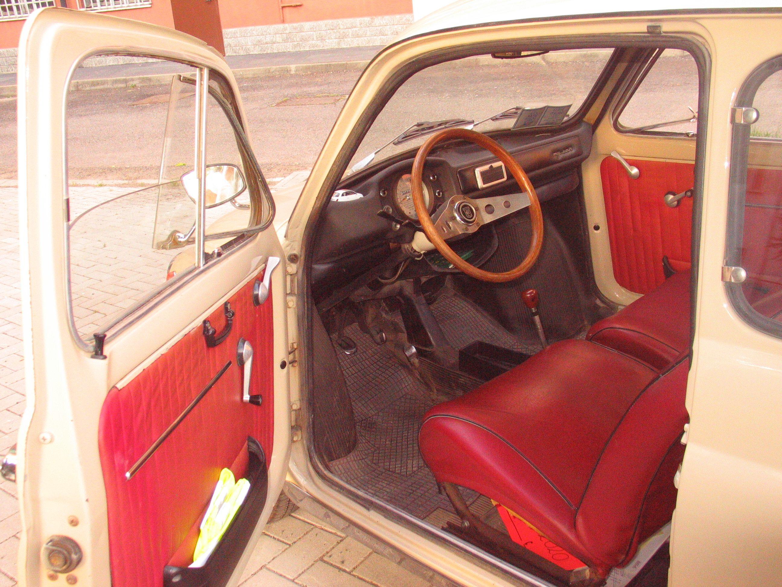 Fiat 500 f interni originali