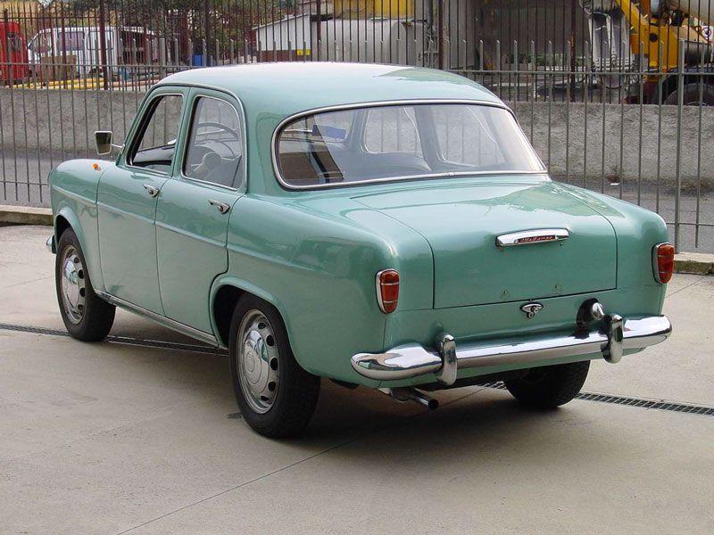 1954 Alfa Romeo Giulietta Berlina Related Infomationspecifications