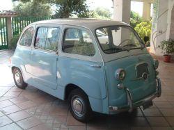 FIAT (I) 600 D MULTIPLA