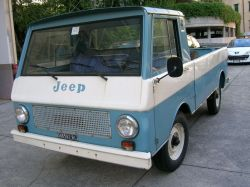 JEEP (USA) JEEPSTER COMMANDO